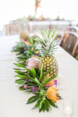 tropical themed wedding